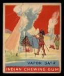 1933 Goudey Indian Gum #91   Vapor Bath  Front Thumbnail