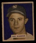 1949 Bowman #181  Gus Niarhos  Front Thumbnail