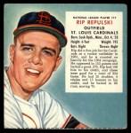 1954 Red Man #17 NL x Rip Repulski  Front Thumbnail