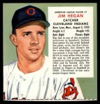 1955 Red Man #7 AL x Jim Hegan  Front Thumbnail