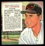 1955 Red Man #17 AL x Joe Coleman  Front Thumbnail