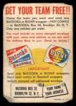1958 Topps   Felt Team Emblems Back Thumbnail