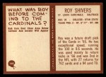 1967 Philadelphia #164  Roy Shivers  Back Thumbnail