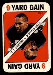 1971 Topps Game #7  O.J. Simpson  Front Thumbnail