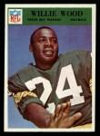 1966 Philadelphia #90  Willie Wood  Front Thumbnail