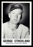 1960 Leaf #30  George Strickland  Front Thumbnail