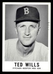 1960 Leaf #56  Ted Wills  Front Thumbnail
