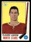 1969 Topps #126  Claude Larose  Front Thumbnail