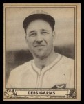 1940 Play Ball #161  Debs Gams  Front Thumbnail