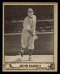 1940 Play Ball #191  John Babich  Front Thumbnail