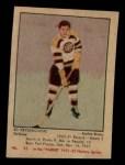 1951 Parkhurst #33  Ed Kryznowski  Front Thumbnail