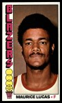 1976 Topps #107  Maurice Lucas  Front Thumbnail