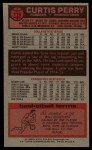 1976 Topps #116  Curtis Perry  Back Thumbnail