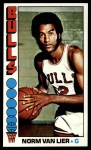 1976 Topps #108  Norm Van Lier  Front Thumbnail