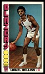 1976 Topps #119  Lionel Hollins  Front Thumbnail