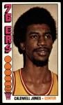 1976 Topps #112  Caldwell Jones  Front Thumbnail