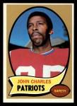 1970 Topps #84  John Charles  Front Thumbnail