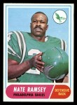 1968 Topps #136  Nate Ramsey  Front Thumbnail