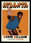 1971 Topps #123  Herm Gilliam  Front Thumbnail