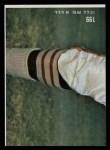 1968 Topps #199  Nemiah Wilson  Back Thumbnail
