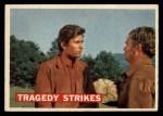 1956 Topps Davy Crockett Orange Back #40   Tragedy Strikes  Front Thumbnail
