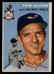 1954 Topps #207  Tom Oliver  Front Thumbnail