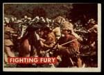 1956 Topps Davy Crockett Green Back #16   Fighting Fury  Front Thumbnail