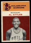 1961 Fleer #1  Al Attles  Front Thumbnail