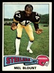 1975 Topps #12  Mel Blount  Front Thumbnail
