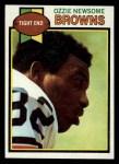 1979 Topps #308  Ozzie Newsome  Front Thumbnail