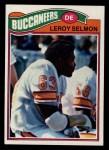 1977 Topps #29  Lee Roy Selmon  Front Thumbnail