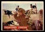 1956 Topps Davy Crockett Green Back #79   Fighting Finish  Front Thumbnail