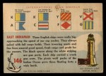 1955 Topps Rails & Sails #146   East Indiaman Back Thumbnail
