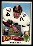 1975 Topps #175  Bob Lilly  Front Thumbnail