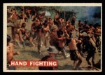 1956 Topps Davy Crockett #20   Hand Fighting  Front Thumbnail