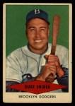 1954 Red Heart  Duke Snider     Front Thumbnail