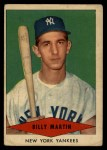 1954 Red Heart  Billy Martin  Front Thumbnail