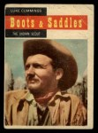 1958 Topps TV Westerns #66   Luke Cummings - Indian Scout  Front Thumbnail