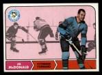 1968 Topps #107  Ab McDonald  Front Thumbnail