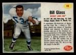 1962 Post #49  Bill Glass  Front Thumbnail