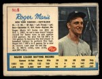 1962 Post #6 AD Roger Maris  Front Thumbnail