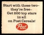 1962 Post #5 AD Mickey Mantle  Back Thumbnail