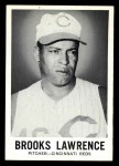 1960 Leaf #36  Brooks Lawrence  Front Thumbnail