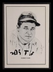 1950 Callahan Hall of Fame  Jimmie Foxx  Front Thumbnail