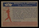 1959 Fleer #3   -  Ted Williams Practice Makes Perfect Back Thumbnail