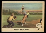 1959 Fleer #3   -  Ted Williams Practice Makes Perfect Front Thumbnail