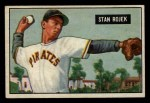 1951 Bowman #166  Stan Rojek  Front Thumbnail