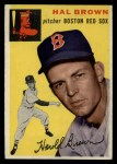 1954 Topps #172  Hal Brown  Front Thumbnail