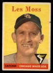 1958 Topps #153  Les Moss  Front Thumbnail