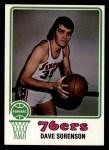 1973 Topps #14  Dave Sorensen  Front Thumbnail